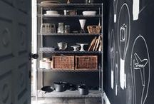 pretty pantries / Organization ideas for your pantry large and small.