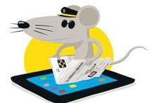 Usages numériques / L'enfant et la tablette : c'est le livre de Laure Deschamps, la fondatrice de La souris grise, basé sur les usages naissants de la lecture et des pratiques familiales. On poursuit l'observation ici !