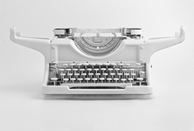 Writing / Typewriters for writing inspiration.