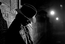 Film Noir / Inspiration from classic film noir and the noir style