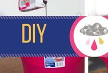 DIY / A board with DIY project inspiration. These are general DIY projects for many parts of your life