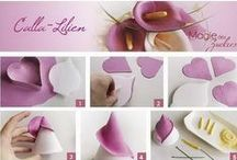 Cake Decorating tips - Flowers / by Luz Quintal