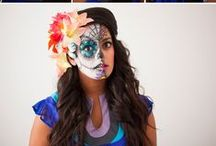 ❛ Face Painting ❜ / How wonderful way to express art, AND FUNNY TOO!