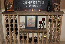 Wine and racks