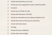 2015 Reading Challenge / 50 books to read in 2015 from different categories. List from sugarpop.com