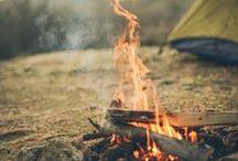 vuur plaatsen