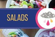 Salads! / Both lettuce salad and other salad recipes. Generally lighter recipes for the week.