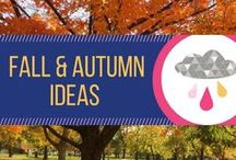 Fall & Autumn Ideas & Inspiration / Ideas, inspiration, and decor for the fall season, including halloween.