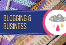 Blogging & Business / Articles about blogging, and small business. Tips to help your blog or small business go to the next level and succeed