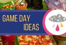 Game Day Ideas / Ideas and recipes to plan the perfect football or game day party