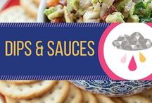 Dips & Sauces / Recipes for dips, cheeballs, barbecue sauce, salsa, and anything else that's great for dipping.