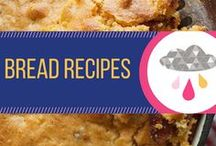Bread Recipes / Recipes for making homemade breads, muffins, cornbreads, and biscotti