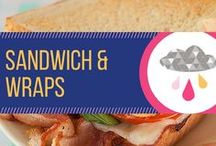 Sandwich & Wrap Recipes / Easy recipes for sandwiches and wraps. Perfect for a lunch pick me up.