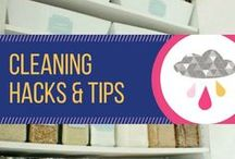 Cleaning Hacks & Tips / Tips and DIY's for cleaning and organizing your home.