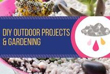 DIY Outdoor Projects & Gardening / DIY projects to add to your garden and make your garden and patio look fabulous