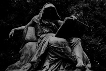 Time is Fleeting / Grim Reaper and Father Time: All their Eternal dealings of Birth, Love, Age, Death, Grievance, and New Beginnings. / by Jacq Civitarese
