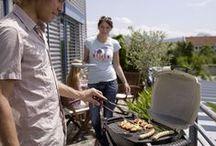 Barbecue électrique / Le barbecue électrique est idéal pour les petits espaces ou les balcons et terrasses en zone urbaine. Facile d´emploi et d´entretien.