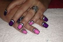 Marti's own Nail art / My own nail art done by Jovan Bevie - Beauty Lounge Bedforview South Africa - 0793037320