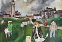 Gill Watkiss Paintings and Limited Edition Lithographs / Paintings and lithographs by Cornish Artist Gill Watkiss
