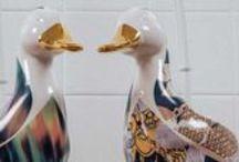 Duck Toilet Brush Holders