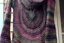 da indossare, da realizzare/to wear, to achieve / Abiti e accessori realizzabili a crochet e ai ferri