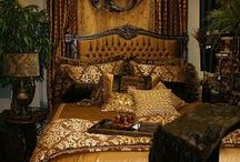 Ideas for the Master Bedroom / The Master Bedroom is such an important place.  It's a retreat and a destination.  Mysterious and open, it is a place of power and accommodation, passion and peace. Done right, it's a home within a home. / by Mimi Moonbeam
