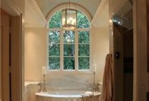 Master Bath / Inspiration for Masterbath and shower area / by Mimi Moonbeam