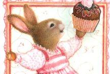 Leuke plaatjes : - haas en konijn