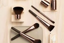 Pro Brush Collection / Each brush is ergonomically designed for the best control and is made of ultra-soft high-quality synthetic fibers, as Nude by Nature is proudly Cruelty Free. www.nudebynature.com.au/pro-brush-collection