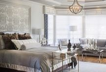 Beautiful Bedrooms / A bedroom should be your personal retreat from the chaos of the day! It should inspire relaxation and refresh you each night...a combination of original work and inspiration these bedrooms do just that!