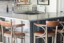 Bar None / The perfect place to entertain, the at home bar can be the life of the party. Who says a bar can't be stylish! These bar designs are simply the best...bar none!