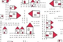 ateliers// représentation ville, maison / références