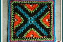 Crochet Squares and Afghans / Crochet patterns and tutorials...  / by Kim Molisee
