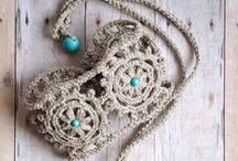 Crochet Jewelry / Let's get some Jewelry made. Love It. / by Kim Molisee