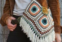 Crochet more, Bags, Purses, Totes ll / Bags, Purses, Totes, Baskets... / by Kim Molisee