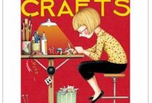 Crafts and Craft Rooms / A variety of crafts that will inspire and surprise you. / by Lou