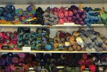Poems / Poems is a 100% wool roving yarn featuring artistic colors which shade easily from one color to the next. Perfect for sweaters, scarves, hats, and more --- and it felts like a dream!