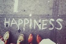 Happiness / It can be a place, a feeling, a memory or doing what you love. Heres to Happiness and wherever you can find it!