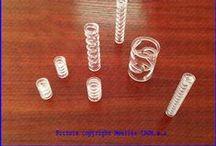 POLYCARBONATE PLASTIC SPRINGS - MUELLES DE PLASTICO EN POLICARBONATO / Compression springs made of polycarbonate plastic - Muelles de compresión fabricados con plástico policarbonato
