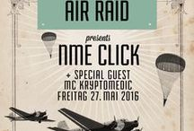 AIR RAID Drum And Bass / 2016-05-27 AIR RAID presents NME Click