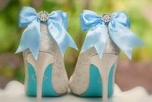 Something Blue, Wedding Bride / Bridal Shoe & Hair Accessories / Shoe Clips, Hair Pins, Fascinators, Head Pieces, Brooches, Boutonnieres / Buttonholes ... LOVE custom orders! http://sofisticata.etsy.com  / by Sofisticata (Hir Mobley)