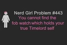 Nerd Girl Problemos
