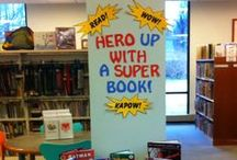 SRP 2015 / Ideas, games, and crafts for Summer Reading Program 2015-Every Hero Has a Story!  / by Niki Moen