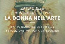 """Collettiva """"la Donna nell'arte"""""""