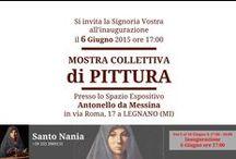 Collettiva 6 - 18 GIUGNO 2015 - LEGNANO / MOSTRA COLLETTIVA di PITTURA