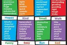 ESL : vocab : skills / #make/do #word_lovers #waystosay