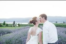 Weddings at Okanagan Lavender and Herb Farm / Beautiful images of celebrations of love here at the garden