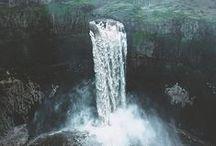 w:a:t:e:r:f:a:l:l:s / inspired by waterfalls