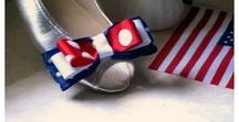 4th of July / Independence Day Fashion & Shoe Clips, Children Accessories, Home Décor & Entertainment For the Best USA Patriotic Celebrations!