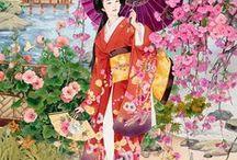 JAPON / IMAGENES ORIENTALES ORIENTADAS A SU CULTURA Y PAISAJES TIPICOS